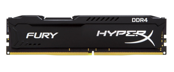 Memória 16gb Ddr4 2666mhz Kingston Hyperx Black Fury