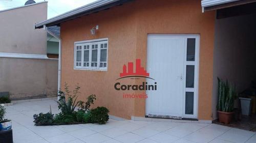Imagem 1 de 23 de Casa Com 2 Dormitórios À Venda, 125 M² Por R$ 379.000 - Residencial Bordon - Sumaré/sp - Ca2426