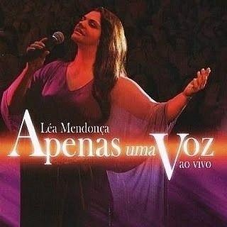 Léa Mendonça - Apenas Uma Voz - Ao Vivo Cd Ev