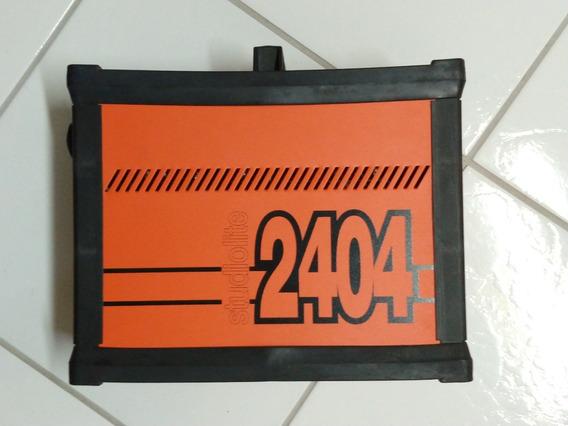 Flash Gerador Mako 2404 Ls C/ 3 Tochas E Carrinho Abaixei