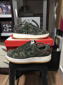 Nike Air Force 1 Supreme Camo Raridade