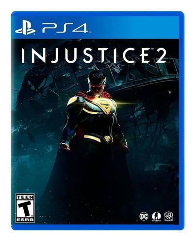 Injustice 2 - Ps4 Fisico Nuevo Y Sellado