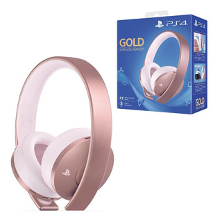 Gold Wireless Stereo Headset Rose Gold Edition Audifonos