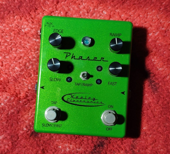 Keeley Electronics Phaser With Tap - Willaudio