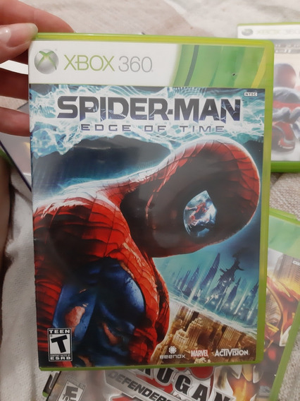 Spider Man Edge Of Time Xbox 360