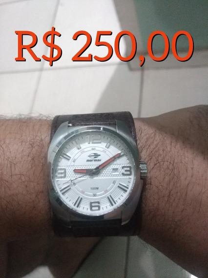 Relógio Mormaii Com Duas Pulseiras