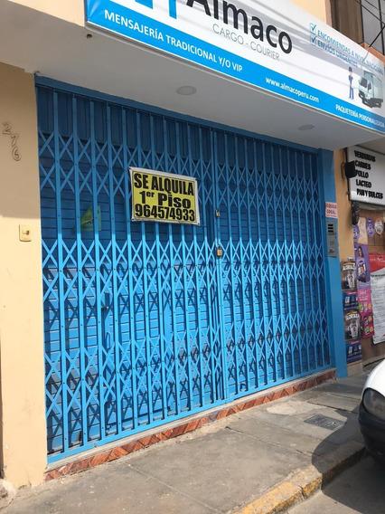 Alquilo Local Comercial Centro De Chiclayo