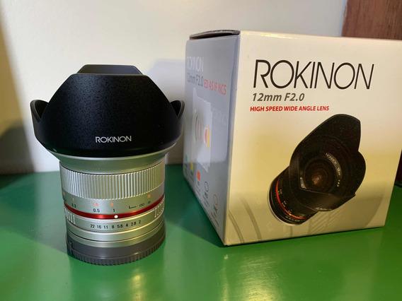 Rokinon 12mm F 2.0 Emount Sony