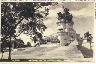 Antiga Foto Postal Monumento Da Independência / São Paulo