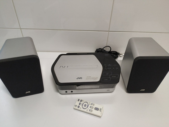Som Micro System Jvc Ca-uxn1s Cd Mp3