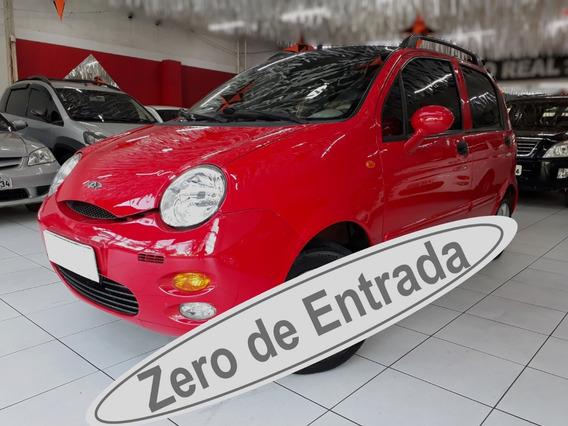 Chery Qq 1.1 Vermelho Completo / Zero De Entrada / Face