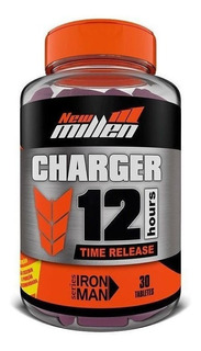 Charger 12 Hours 30 Cápsulas New Millen
