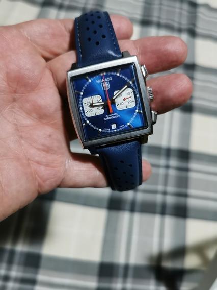 Relógio Tag Heuer Monaco Cw2113-0 Steve Mcqueen
