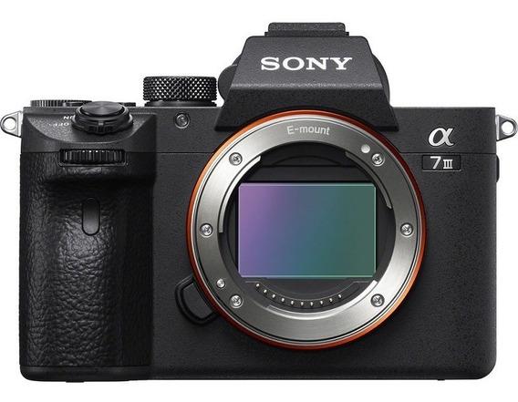 Câmera Sony Alpha A7iii Mirrorless Vídeo 4k Corpo Nota Fiscal