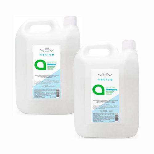 Combo Argan Shampoo + Acondicionador Balsam Nov X 3900