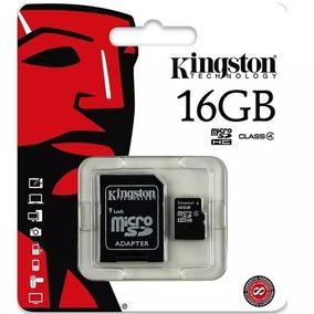 Cartão De Memória 16gb Classe 4 Kingston Original Micro Sd
