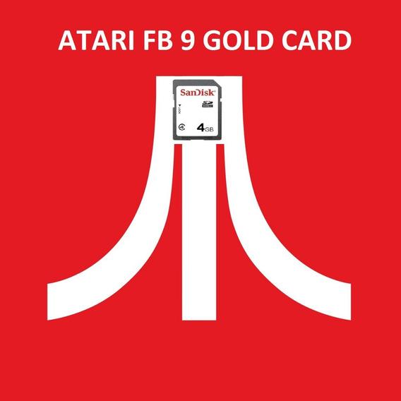 Cartão Sd P/ Atari Flashback 9 + 1000 Brindes