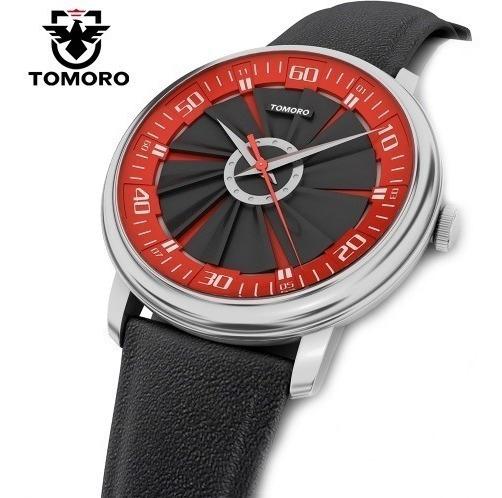 Relógio Pulso Masculino Tomoro Vermelho Barato Promoção
