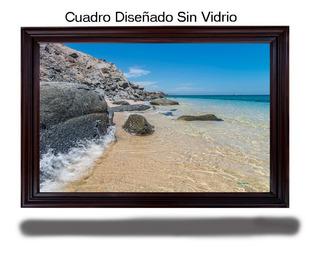 Cuadro Decorativo Olas De Mar, Baja California Sur Mexico