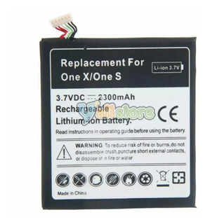 Bateria Para Htc One X Y One S De Larga Duracion 2300mha