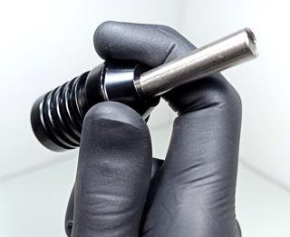 Tattoo Grip Puntera Aluminio 25mm + Tip Traser Esterilizable