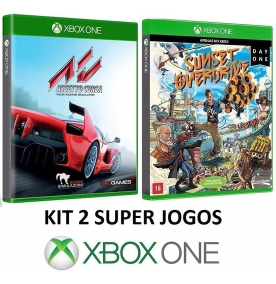 Assetto Corsa + Sunset Overdrive - Midia Fisica - Xbox One