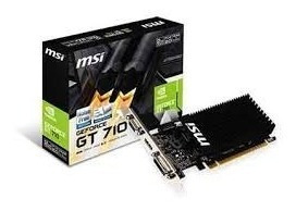 Tarjeta De Video Nvidia Gt 710 2gb Ddr3 Pci-e Hdmi