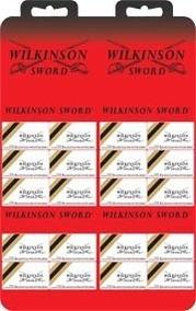Lâmina Barbear Wilkinson Uma Cartela Com 60 R$ 23,00