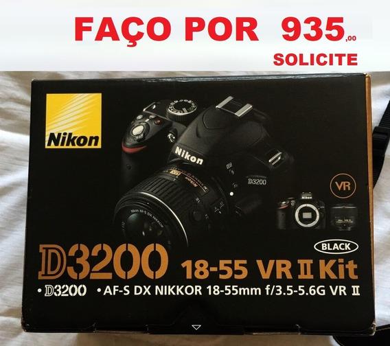 Câmara Nikon D3200 Corpo - Estado .de Novo .na Caixa