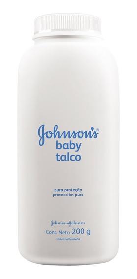 Talco Johnsons Baby - 200 Gramas - Johnson E Johnson