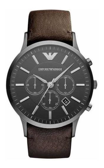 Reloj Emporio Armani De Correa De Piel Ar2462