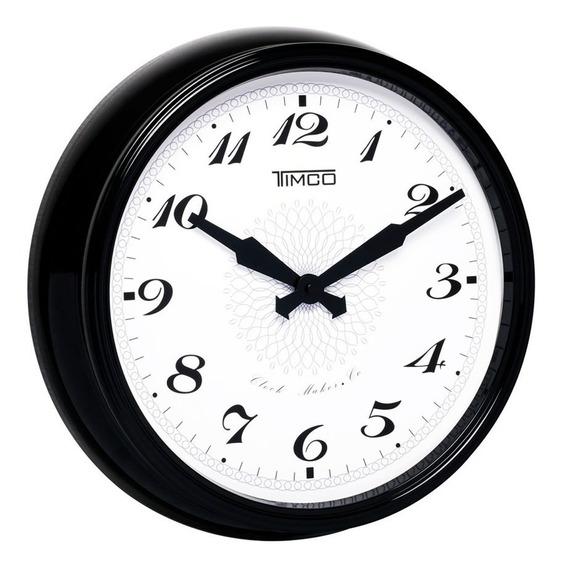 Reloj De Pared Marco De Aluminio 38 Cm Hyw118n