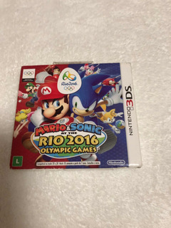 Mário & Sonic Ar The Rio 2016 Olympic Games Com Luva