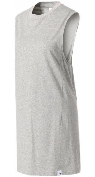 Playera Vestido Originals Xbyo Tank Mujer adidas Bk2290