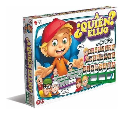 A Quien Elijo? Juego Similar Quien Es Quien? Top Toys