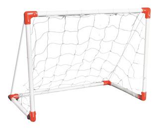 Arco Futbol Mediano Metalico C/red Juegosol 160x120x70