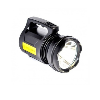 Lanterna Holofote 15w Led T6 Potente E Bateria + Autonomia