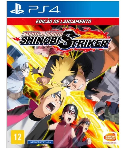 Naruto To Boruto Shinobi Striker - Ps4 - Mídia Física - Novo