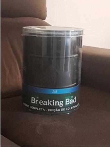 Breaking Bad Completa Blu-ray Edição Colecionador Barril