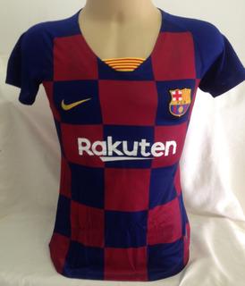 Camisa Barcelona Feminina #10 Messi - Tamanho P