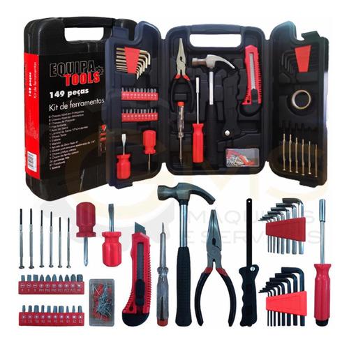 Imagem 1 de 3 de Kit De Ferramentas Equipa Tools - 149 Peças