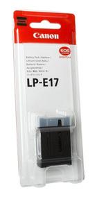 Original Lp-e17 C/ Nf-e Camera Eos T6i T6s T7i Canon