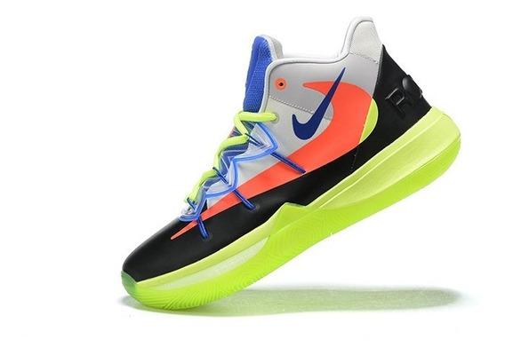 Tênis Nike Kyrie 5 X Rokit - Multi-cores