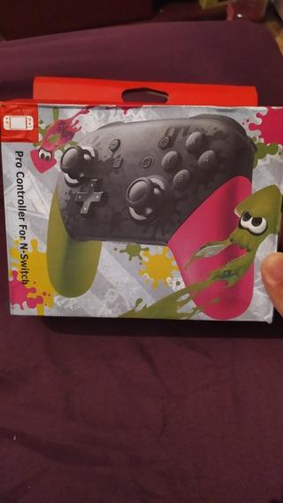 Pro Controller Nintendo Switch Similar Licenciado Splatoon 2