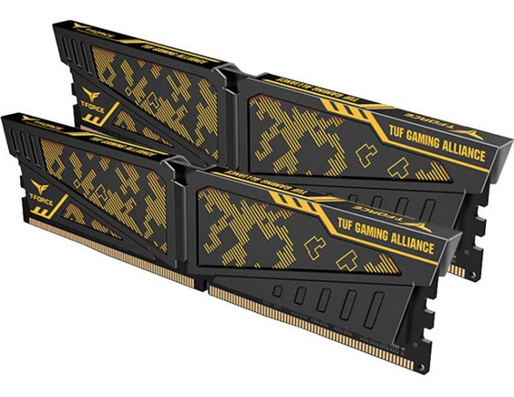 Memoria Team Tforce Ddr4 16gb 2x8gb 3200mhz Vulcan Tuf Gamer