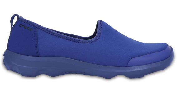 Zapato Crocs Dama Busy Day Stretch Skimmer Azul Eléctrico