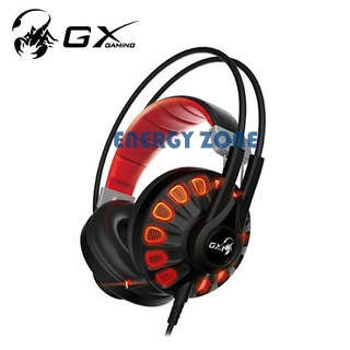 Audifono Con Microfono Genius Gx Hs-g680 7.1 Gaming Black