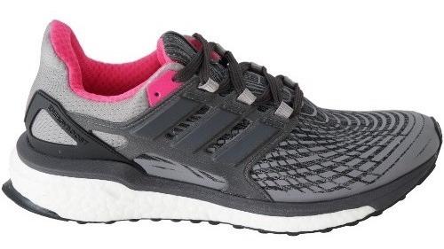 Tenis Feminino adidas Energy Boost - Cinza/chumbo/pink