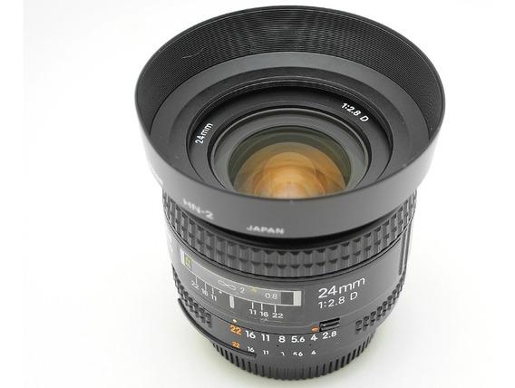 Nikon Af 24mm F/2.8d Fx P/ D90 D750 D7200 D7100 D610 D800 D3