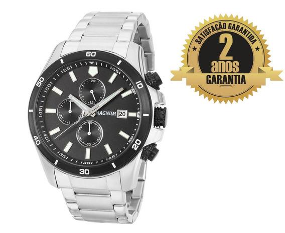 Relógio Masculino Magnum Ma34647t Cronógrafo